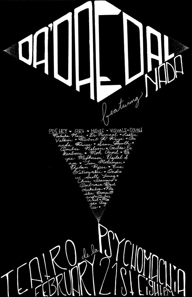Da'Daedal Poster by Ambrosia Bartosek