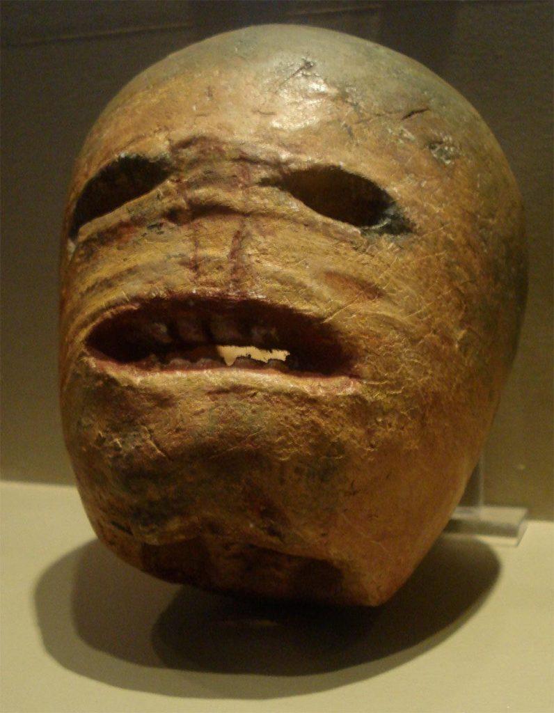 a rutabega mask